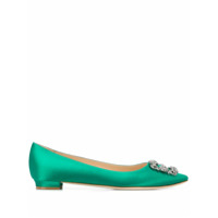 Manolo Blahnik Sapatilha Hangisi - Bright Green