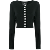 Marc Jacobs Cardigan Cropped - Preto