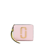 Marc Jacobs Carteira Compact Color Block - Rosa