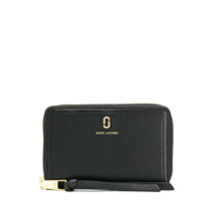Marc Jacobs Carteira Double J - Preto