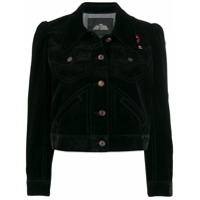 Marc Jacobs Jaqueta The Velveteen Jean - Preto