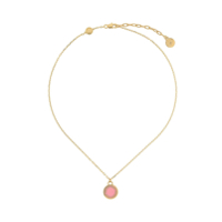Marc Jacobs Logo Disc Necklace - Dourado