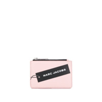 Marc Jacobs Logo Print Coin Purse - Rosa