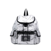 Marc Jacobs The Ripstop Ny Backpack - Prateado