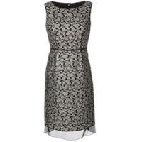 Marc Jacobs Vestido Brocado - Preto