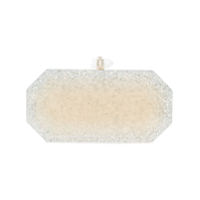 Marchesa Clutch Metalizada - Branco