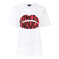 Markus Lupfer Alex Love Is Enough T-Shirt - Branco