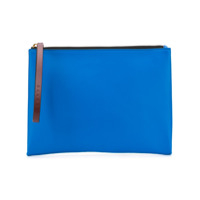 Marni Clutch Color Block - Azul