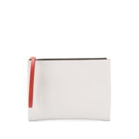 Marni Logo Clutch Bag - Branco