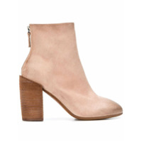 Marsèll Ankle Boot Com Salto Bloco - Neutro