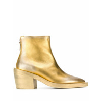 Marsèll Gilded Ankle Boots - Dourado