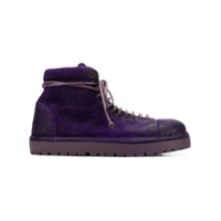 Marsèll Lace-Up Ankle Boots - Roxo