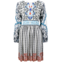 Mary Katrantzou Vestido De Seda 'kings' - Estampado