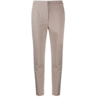 Max Mara Cropped Tapered Trousers - Neutro