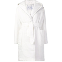Max Mara Hooded Padded Jacket - Branco