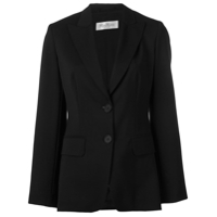 Max Mara Single Breasted Blazer - Preto