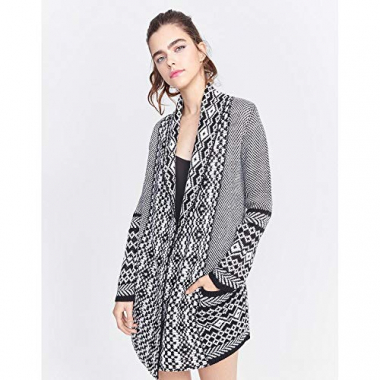 Maxi Cardigan Tricot-Multicor-P