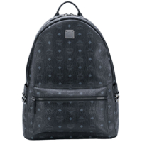 Mcm Large 'stark' Backpack - Preto