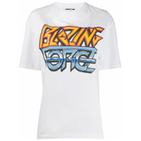 Mcq Alexander Mcqueen Blazing Force T-Shirt - Branco