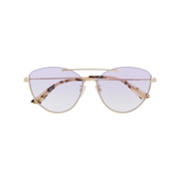 Mcq Alexander Mcqueen Cat Eye Sunglasses - Dourado