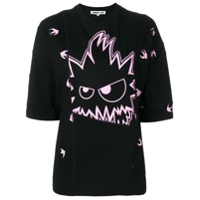 Mcq Alexander Mcqueen Swallow Monster T-Shirt - Preto