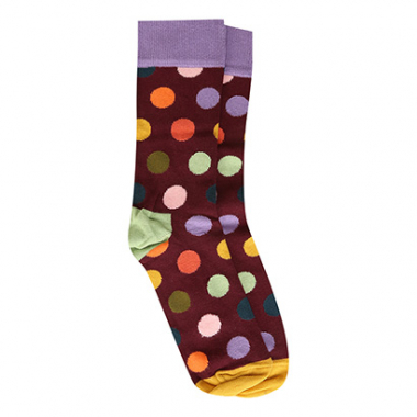 Meia 3/4 Happy Socks Big Dot Sock Feminina-Feminino