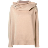 Mes Demoiselles Oversized Neck Sweater - Neutro