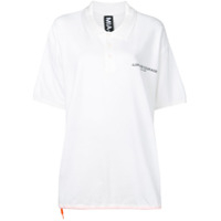 Mia-Iam Camisa Polo Daddy Oversized - Branco