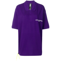Mia-Iam Camisa Polo 'love And Courage' - Roxo
