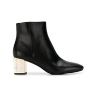 Michael Kors Collection Ankle Boot Metálica - Preto