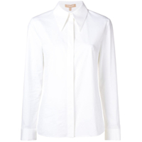 Michael Kors Collection Camisa Com Mangas Longas - Branco