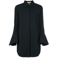 Michael Kors Collection Camisa Mangas Longas - Preto