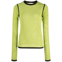 Michael Kors Collection Blusa Com Recortes - Green
