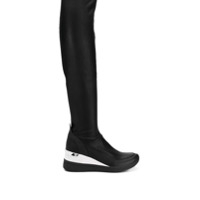 Michael Michael Kors Bota Over The Knee Plataforma - Preto