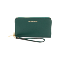 Michael Michael Kors Carteira Continental 'jet Set Travel' - Verde