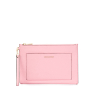 Michael Michael Kors Large Pocket Clutch - Rosa