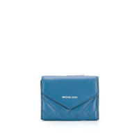 Michael Michael Kors Quilted Envelope Wallet - Azul