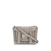 Michael Michael Kors Small Manhattan Crossbody Bag - Cinza