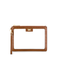 Michael Michael Kors Clutch Transparente - Marrom