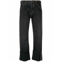 Mih Jeans Phoebe Cropped Jeans - Preto