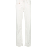 Mih Jeans Straight Leg Jeans - Branco