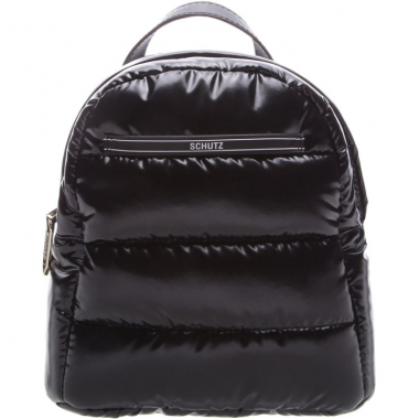Mini Mochila Fluffy Black | Schutz