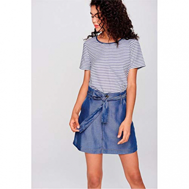 Mini Saia Jeans Clochard Tam: 34 / Cor: Blue