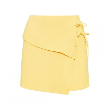 Minissaia Transpasse Lisa Animale - Amarelo