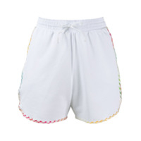 Missoni Mare Drawstring Fitted Shorts - Branco