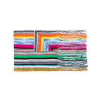 Missoni Multicoloured Striped Scarf - Verde
