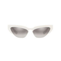 Miu Miu Eyewear Cat Eye Sunglasses - Branco