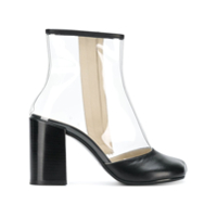 Mm6 Maison Margiela Ankle Boot Salto Bloco - Preto