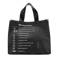Mm6 Maison Margiela Bolsa Shopper - Preto