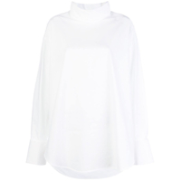 Mm6 Maison Margiela Camisa Oversized - Branco